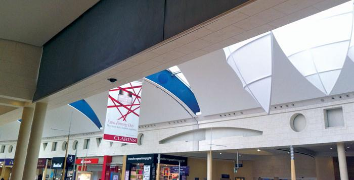 Smoke Curtains at Bluewater Shopping Centre