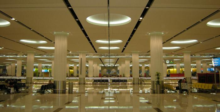 Smoke Curtains at Dubai International Airport