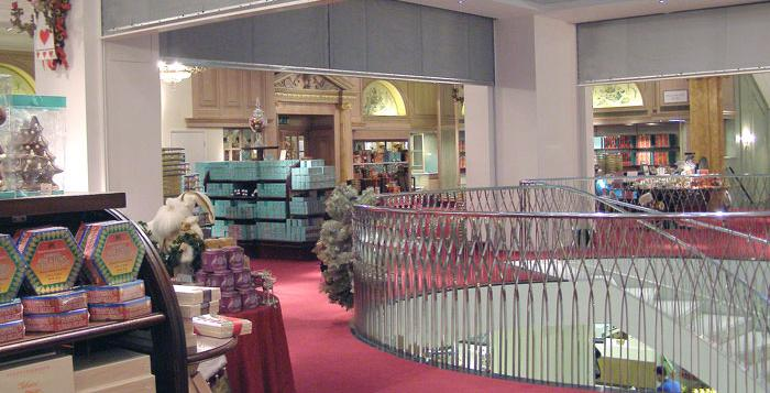 Fire Curtains Protect Fortnum & Mason