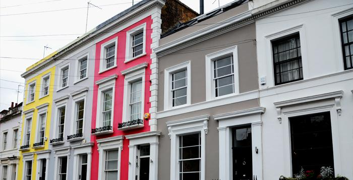 Domestic Home at Denbigh Terrace, London, UK