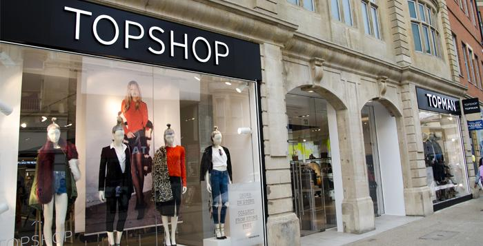 Topshop Retail Store, Oxford, UK