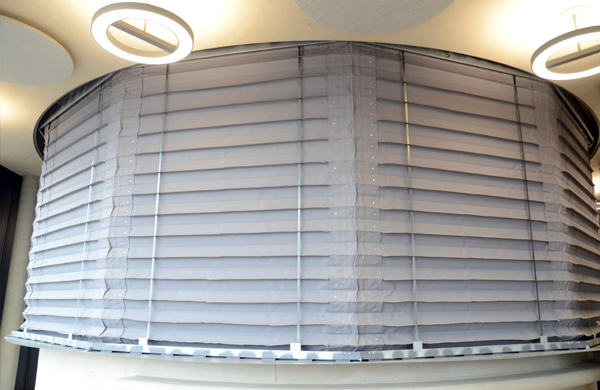 Fire and Smoke curtains installed at Blavatnik School, Oxford UK