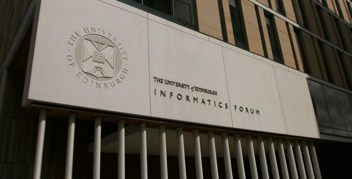 The University of Edinburgh Informatics Forum building