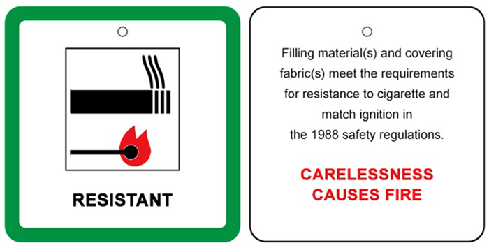 Fire label