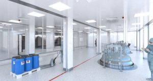 FireMaster Cleanroom Fire Curtain