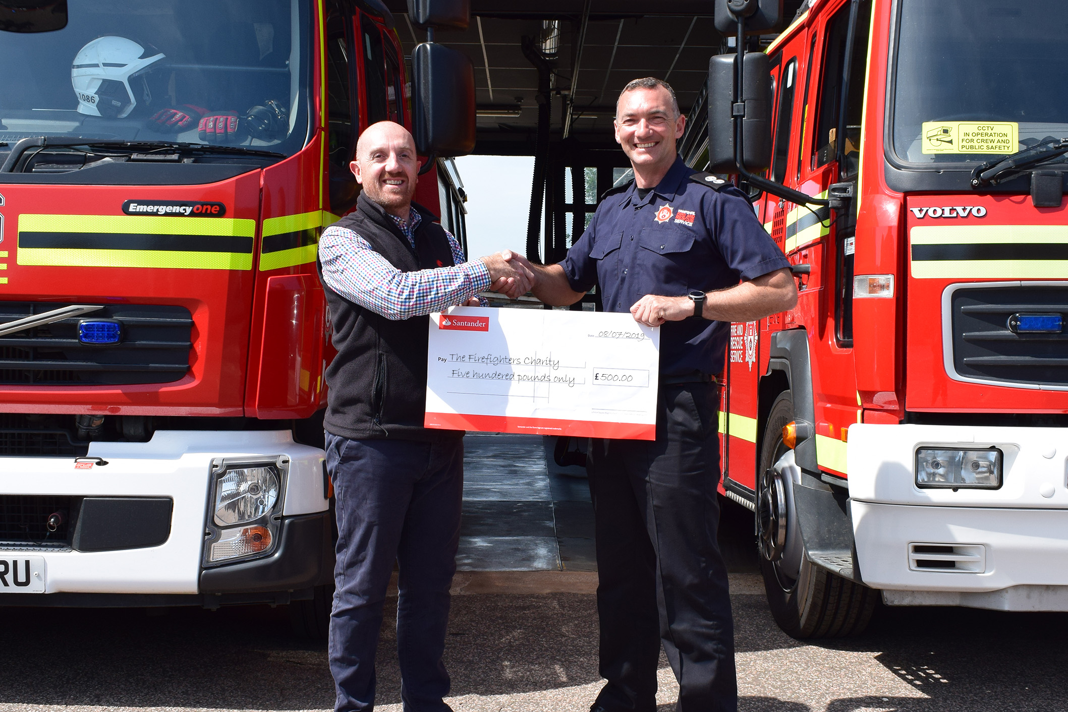 Coopers Fire Sponsor Hampshire Fire and Rescue