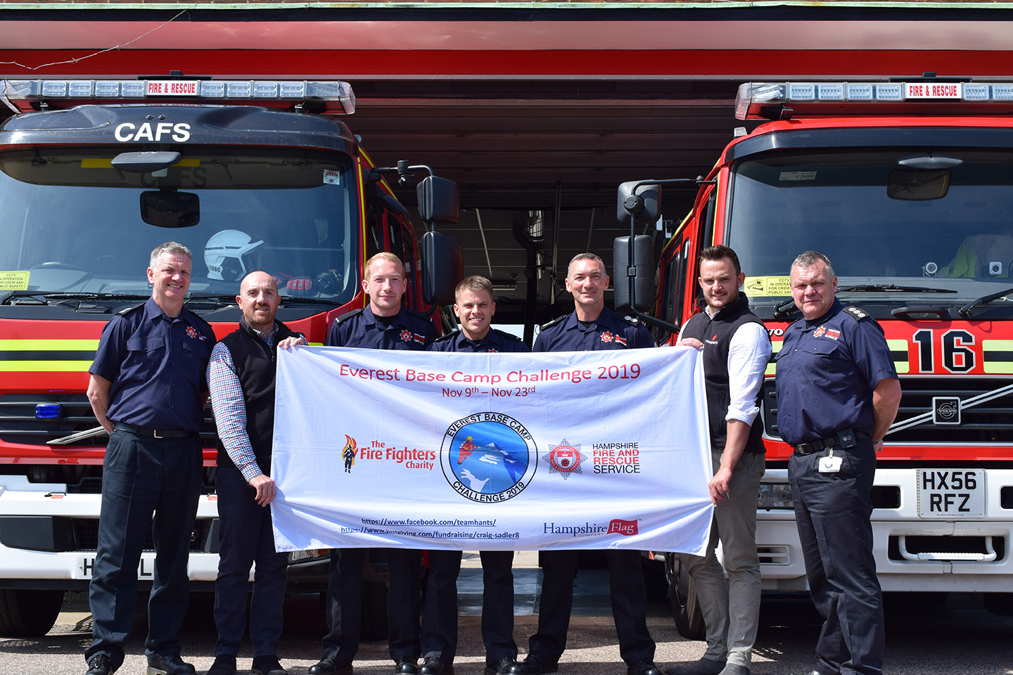 Coopers Fire at Havant fire station to Sponsor Hampshire Fire and Rescue