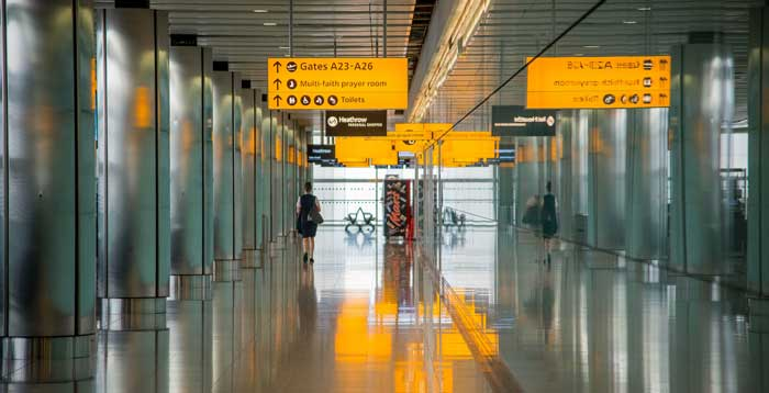 Airport fire curtains are changing the way airports are built
