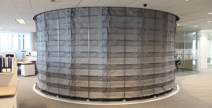 FireMaster Concertina fire curtain: The ultimate solution