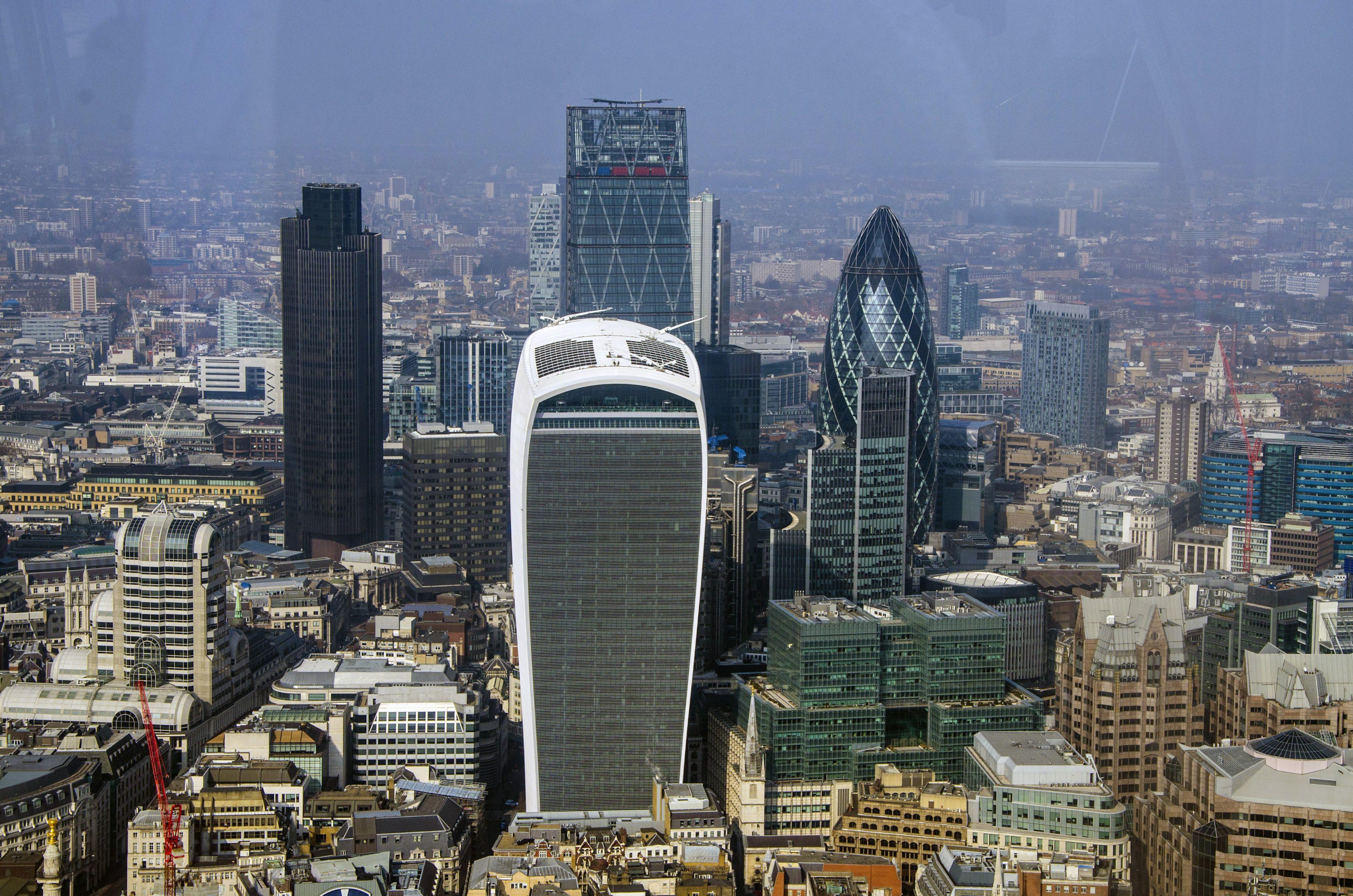 London Skyline Tall Buildings