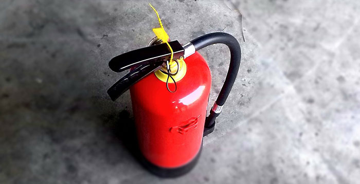 Get to know your fire extinguisher
