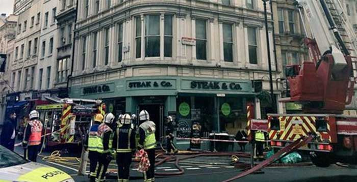 Steak and Co fire
