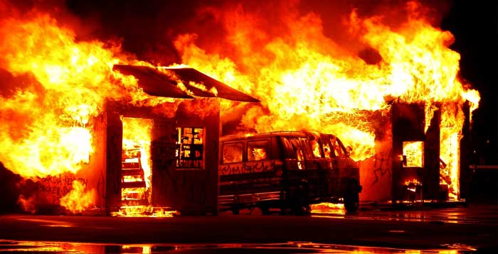 A History of Commercial Fires