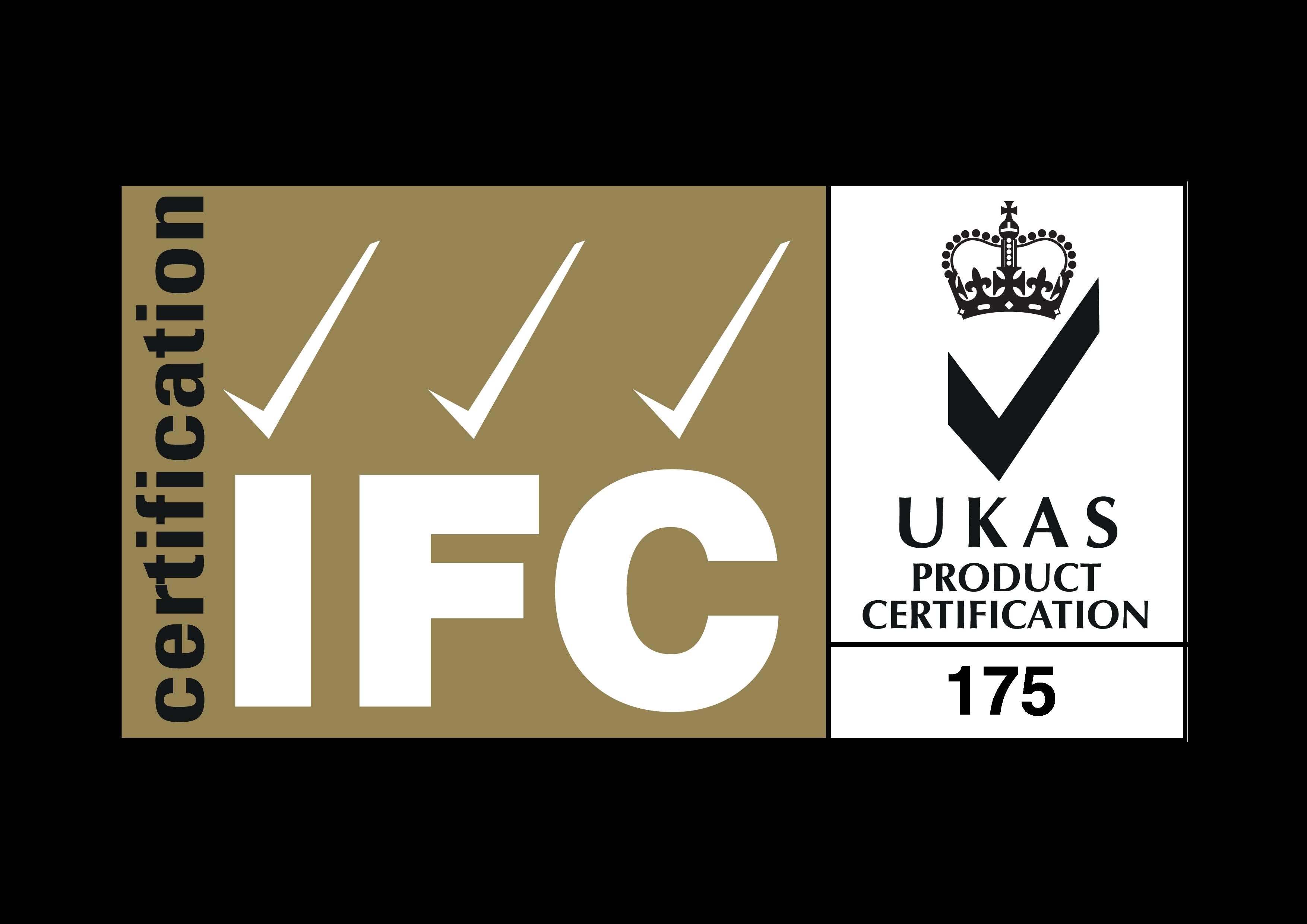 IFC certification logo