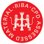 RIBA CPD Assessed Material logo