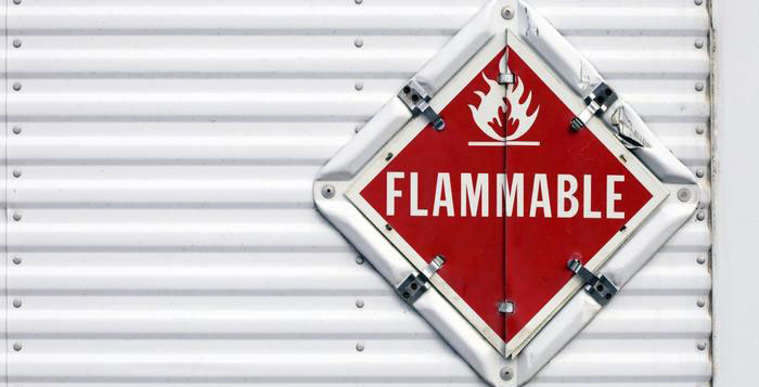 The control of flammable substances in the workplace