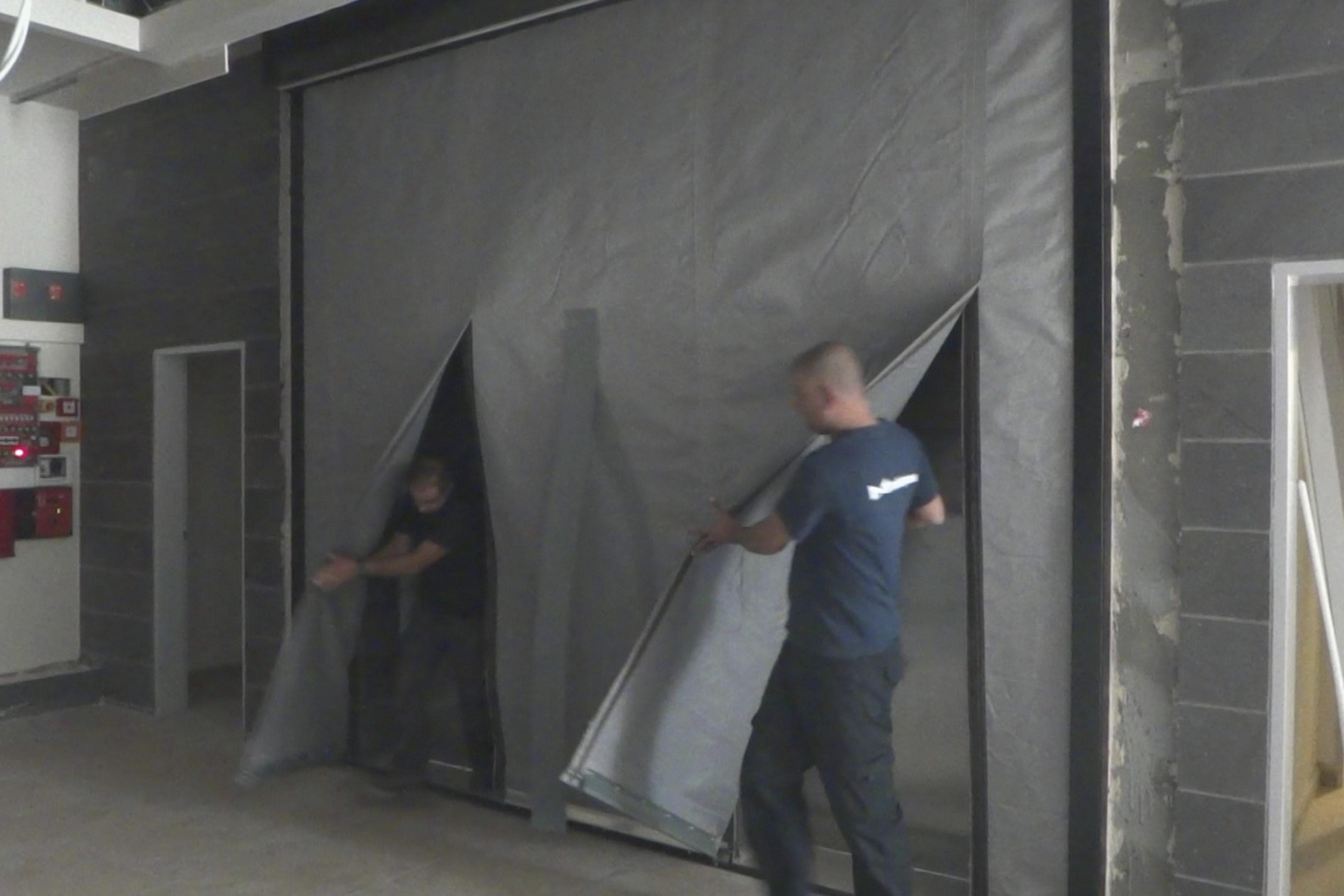 FireMaster Egress Fire Curtain