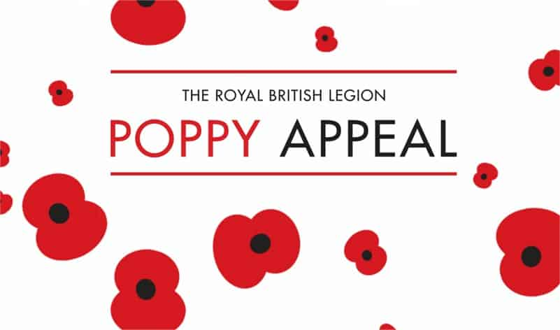 Coopers Fire Raise Over £300 for the Royal British Legion Poppy Appeal