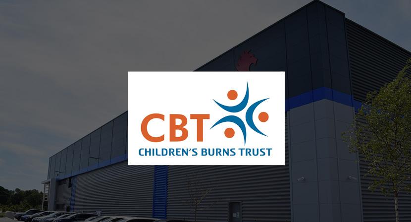 Coopers Fire raise money for The Children's Burns Trust